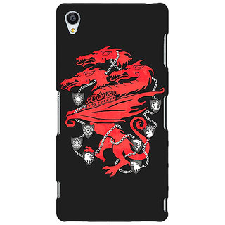 1 Crazy Designer Game Of Thrones GOT House Lannister  Back Cover Case For Sony Xperia M4 C610157