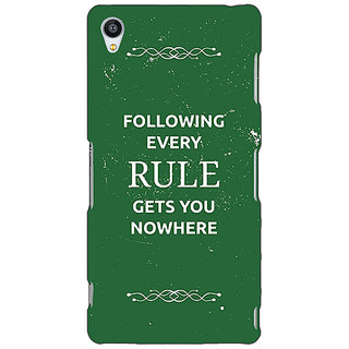 1 Crazy Designer SUITS Quotes Back Cover Case For Sony Xperia M4 C610486