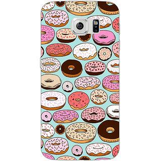 1 Crazy Designer Donut Love Back Cover Case For Samsung S6 Edge C600698