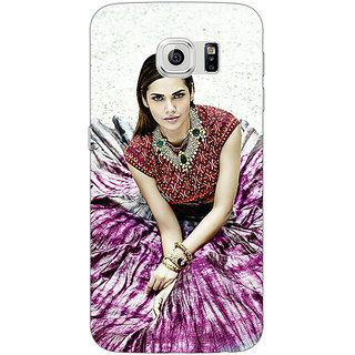 1 Crazy Designer Bollywood Superstar Esha Gupta Back Cover Case For Samsung S6 Edge C600968