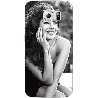 1 Crazy Designer Bollywood Superstar Priyanka Chopra Back Cover Case For Samsung S6 Edge C600969
