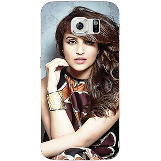 1 Crazy Designer Bollywood Superstar Parineeti Chopra Back Cover Case For Samsung S6 Edge C600999