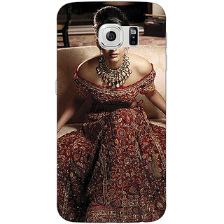 1 Crazy Designer Bollywood Superstar Sonam Kapoor Back Cover Case For Samsung S6 Edge C601000