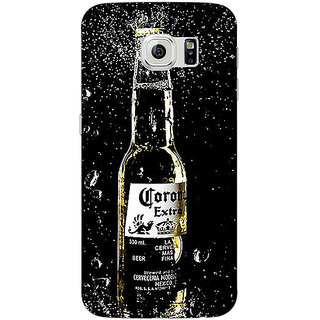 1 Crazy Designer Corona Beer Back Cover Case For Samsung S6 Edge C601232