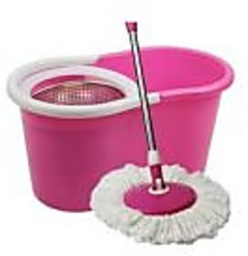 Vantage Steel Mega Spin Magic Mop