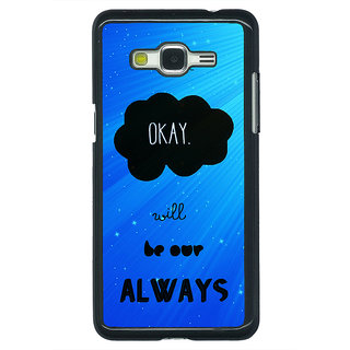 1 Crazy Designer TFIOS Maybe OKAY will be Our Always  Back Cover Case For Samsung Galaxy J5 C630110