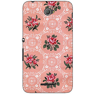 1 Crazy Designer Floral Pattern  Back Cover Case For Sony Xperia E4 C620663