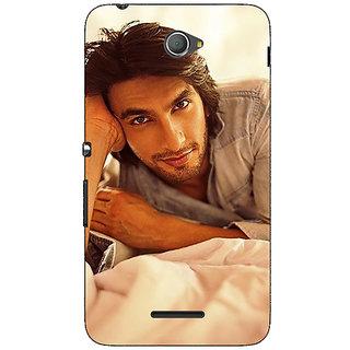 1 Crazy Designer Bollywood Superstar Ranveer Singh Back Cover Case For Sony Xperia E4 C620928