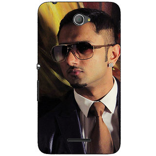 1 Crazy Designer Bollywood Superstar Honey Singh Back Cover Case For Sony Xperia E4 C621184