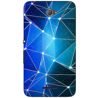 1 Crazy Designer Crystal Prism Back Cover Case For Sony Xperia E4 C621446