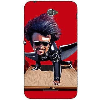 1 Crazy Designer Rajni Rajanikant Back Cover Case For Sony Xperia E4 C621487