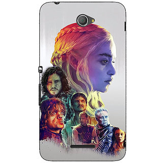 1 Crazy Designer Game Of Thrones GOT All Back Cover Case For Sony Xperia E4 C621529