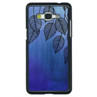 1 Crazy Designer Blue Leaves Pattern Back Cover Case For Samsung Galaxy J5 C630218