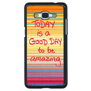 1 Crazy Designer Good Day Pattern Back Cover Case For Samsung Galaxy J5 C630232