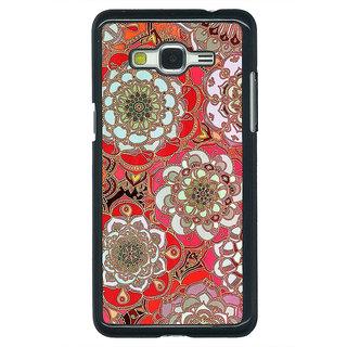 1 Crazy Designer Orange Flowers Pattern Back Cover Case For Samsung Galaxy J5 C630258