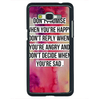 1 Crazy Designer Wise Quote Back Cover Case For Samsung Galaxy J5 C631144