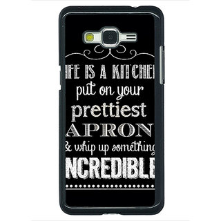 1 Crazy Designer Chef Quote Back Cover Case For Samsung Galaxy J5 C631203