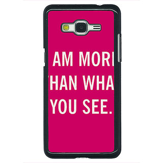 1 Crazy Designer Quote Back Cover Case For Samsung Galaxy J5 C631225