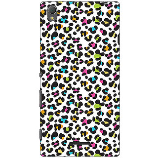 1 Crazy Designer Cheetah Leopard Print Back Cover Case For Sony Xperia T3 C640085