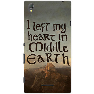 1 Crazy Designer LOTR Hobbit  Back Cover Case For Sony Xperia T3 C640377