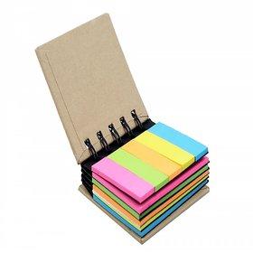 Pocket Size Spiral Sticky Note Pad