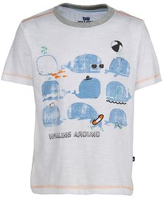 Bells and Whistles White Whaling Around Tshirt