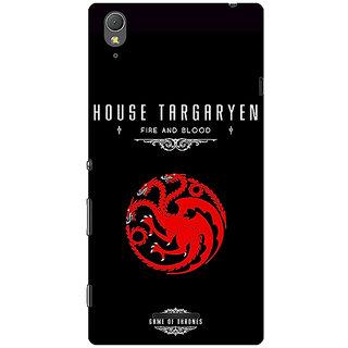 1 Crazy Designer Game Of Thrones GOT House Targaryen  Back Cover Case For Sony Xperia T3 C640144