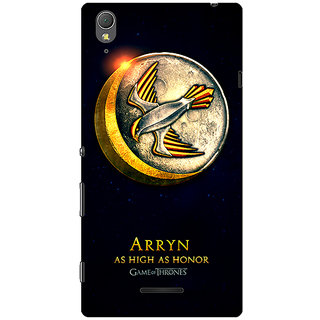 1 Crazy Designer Game Of Thrones GOT House Arryn  Back Cover Case For Sony Xperia T3 C640170