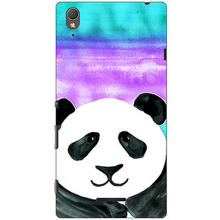 1 Crazy Designer Panda Pattern Back Cover Case For Sony Xperia T3 C640206