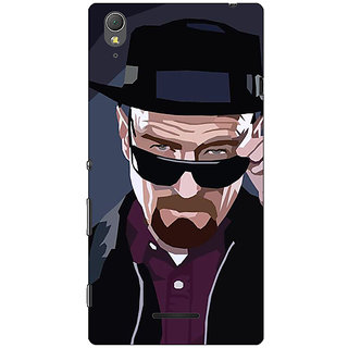 1 Crazy Designer Breaking Bad Heisenberg Back Cover Case For Sony Xperia T3 C640416