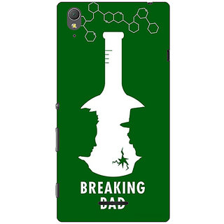 1 Crazy Designer Breaking Bad Heisenberg Back Cover Case For Sony Xperia T3 C640422