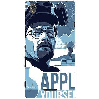1 Crazy Designer Breaking Bad Heisenberg Back Cover Case For Sony Xperia T3 C640424