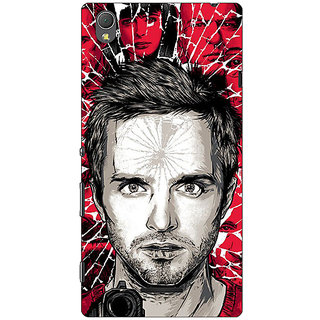 1 Crazy Designer Breaking Bad Back Cover Case For Sony Xperia T3 C640425