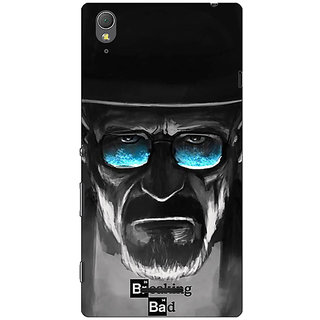 1 Crazy Designer Breaking Bad Heisenberg Back Cover Case For Sony Xperia T3 C640426