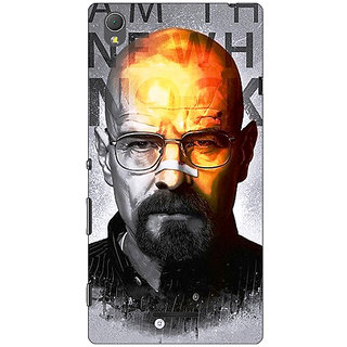 1 Crazy Designer Breaking Bad Heisenberg Back Cover Case For Sony Xperia T3 C640429
