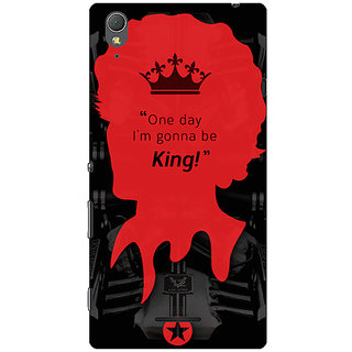 1 Crazy Designer Entourage Vince Back Cover Case For Sony Xperia T3 C640435