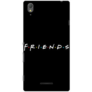 1 Crazy Designer FRIENDS Back Cover Case For Sony Xperia T3 C640442