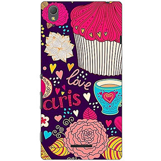 1 Crazy Designer Paris Love  Back Cover Case For Sony Xperia T3 C640795