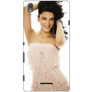 1 Crazy Designer Bollywood Superstar Shruti Hassan Back Cover Case For Sony Xperia T3 C640985