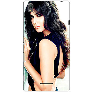 1 Crazy Designer Bollywood Superstar Katrina Kaif Back Cover Case For Sony Xperia T3 C640989
