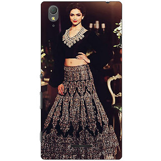 1 Crazy Designer Bollywood Superstar Deepika Padukone Back Cover Case For Sony Xperia T3 C640991