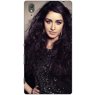 1 Crazy Designer Bollywood Superstar Shraddha Kapoor Back Cover Case For Sony Xperia T3 C641008
