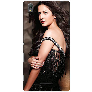 1 Crazy Designer Bollywood Superstar Katrina Kaif Back Cover Case For Sony Xperia T3 C641048