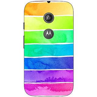 1 Crazy Designer Shades Of Life Pattern Back Cover Case For Moto E2 C650250