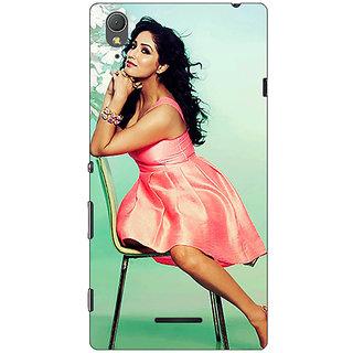 1 Crazy Designer Bollywood Superstar Yami Gautam Back Cover Case For Sony Xperia T3 C641076