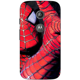 1 Crazy Designer Superheroes Spiderman Back Cover Case For Moto E2 C650900