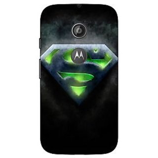 1 Crazy Designer Superheroes Superman Back Cover Case For Moto E2 C650389