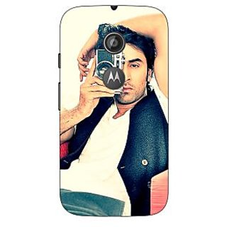 1 Crazy Designer Bollywood Superstar Ranbir Kapoor Back Cover Case For Moto E2 C650961