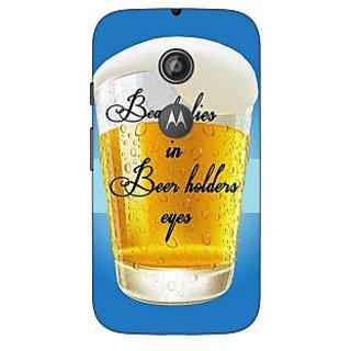1 Crazy Designer Beer Holder Back Cover Case For Moto E2 C651208