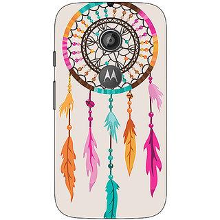1 Crazy Designer Dream Catcher  Back Cover Case For Moto E2 C650199
